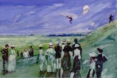 Otto Lilienthal 1896, Succesful glider piolet.