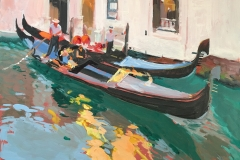 TWO VENICE GONDOLAS